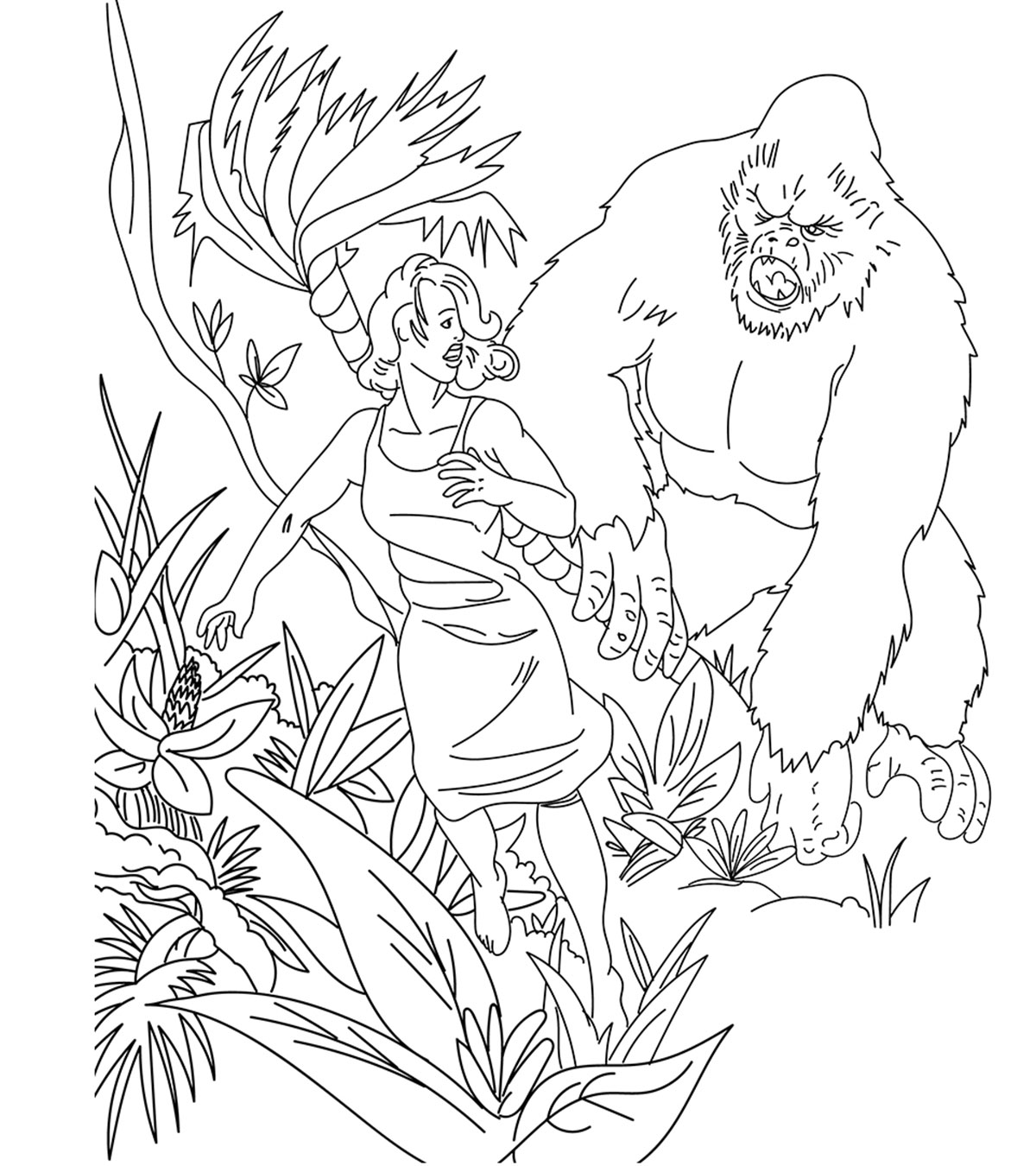 Monster And Aliens Coloring Pages Momjunction