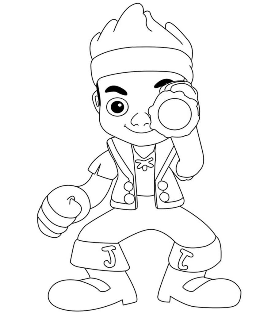 Top 25 Pirates Coloring Pages For Toddlers