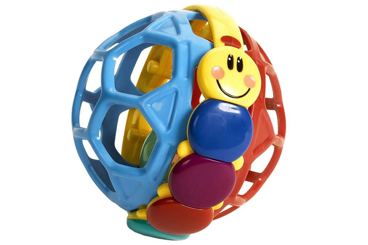 Usstore Baby Kid Baby Einstein children pliable ball grasping the ball exquisite ball Toy Gift