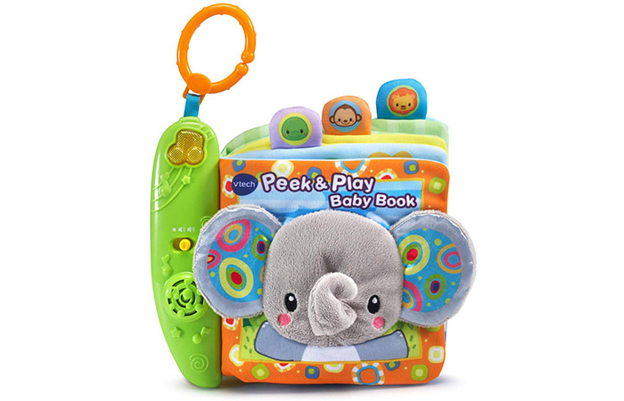VTech Peek & Play Baby Book Toy 4142