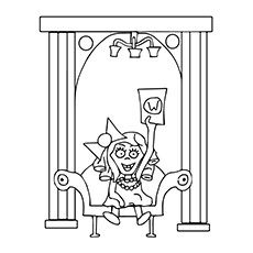 Charlie And The Chocolate Factory Coloring Pages  - Veruca Salt