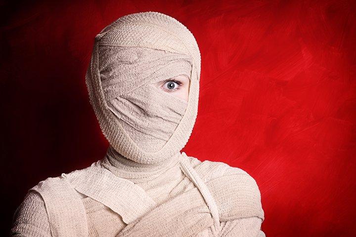 Halloween Activities For Teens - Wrap the Dead Body