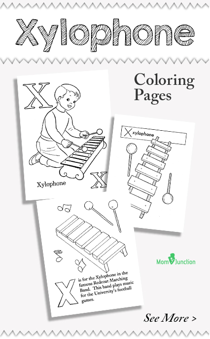 Top 10 Xylophone Coloring Pages For Toddlers  MomJunction