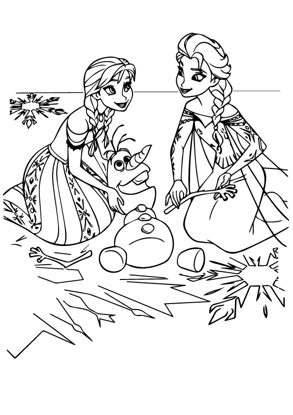 anna-and-Elsa-playing-with-olaf