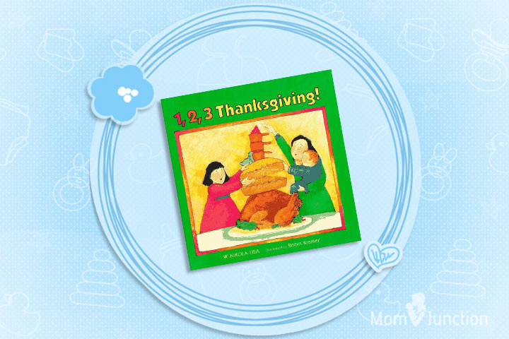 Thanksgiving Books For Preschoolers - 1, 2, 3 Thanksgiving