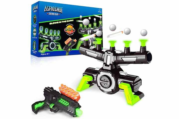 USA Toyz Astroshot Glow In The Dark Shooting Games