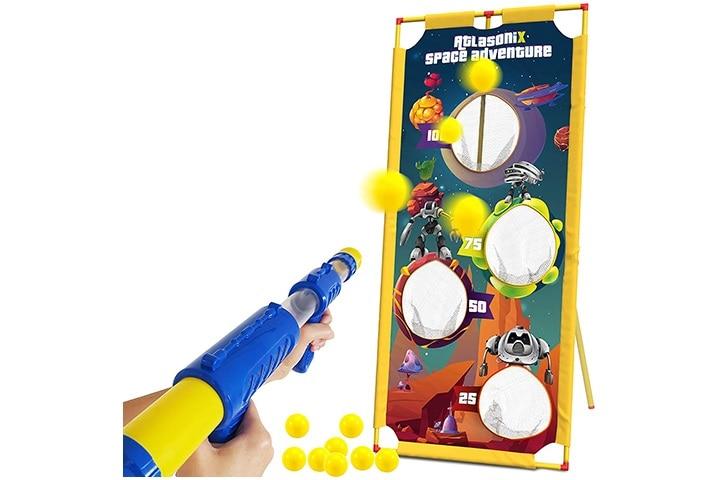 Foam Ball Gun And Target - Shooting Game
