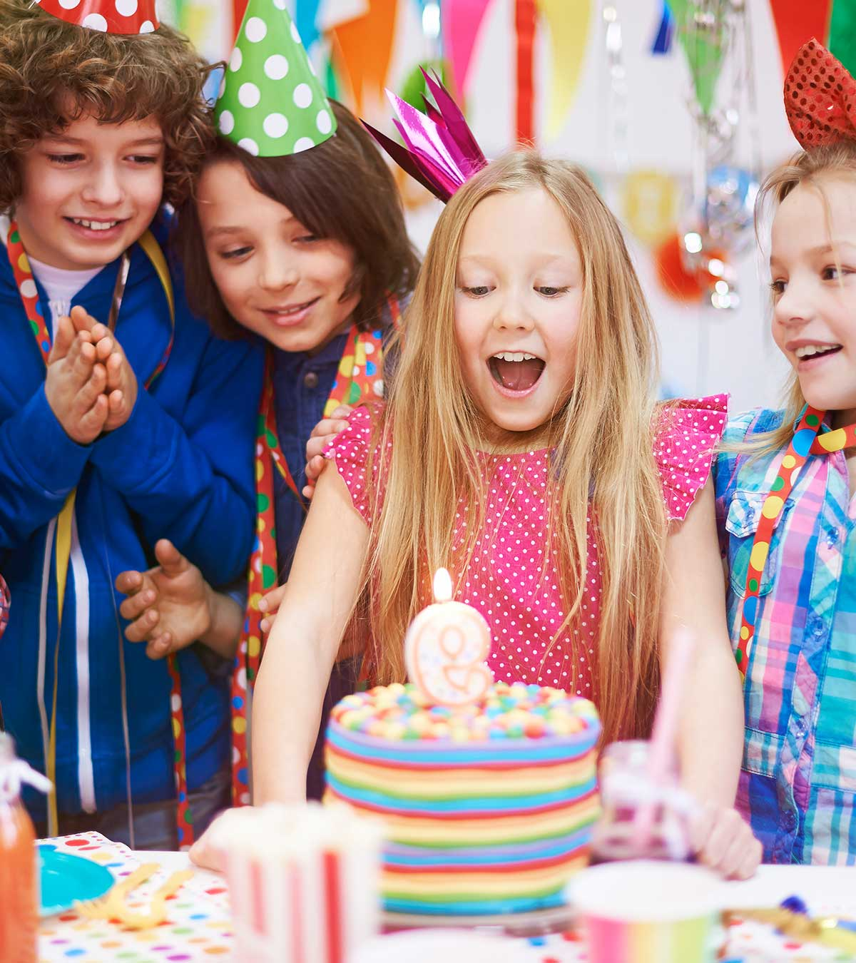 15 Delicious And Easy,To,Make Birthday Cakes For Kids