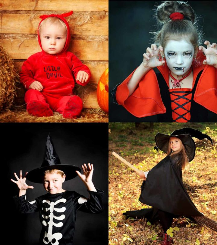 Scary Halloween Costumes For Kids With Pictures