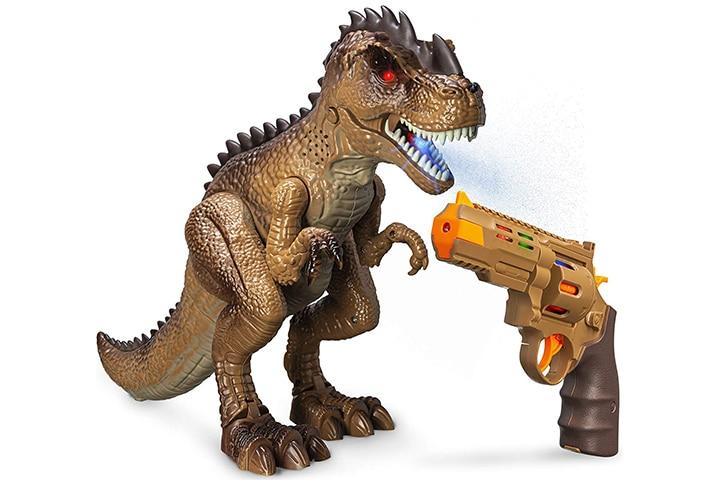 Greenbo Dinosaur Toys Jurassic T Rex Shooting Action Figure