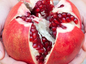 6 Wonderful Health Benefits Of Eating Pomegranates While Breastfeeding