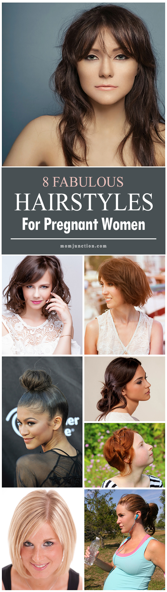 Pleasing 8 Fabulous Hairstyles For Pregnant Women Hairstyles For Men Maxibearus