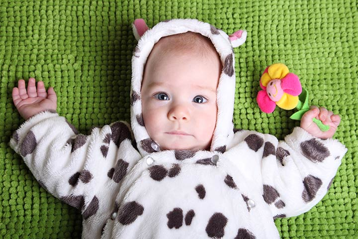 Halloween Costumes For Babies - Baby Cow Costume