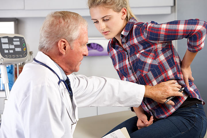 Severe Back Pain in Teens Images
