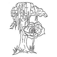 Crayola Wild Notes Coloring Page | Top 25 Tree Coloring Pages For Your Little Ones