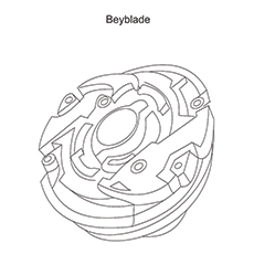 10 Amazing Beyblade Coloring Pages For Toddlers