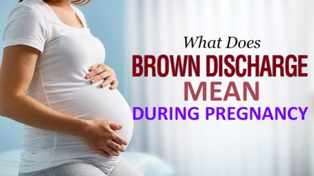 what does brown discharge mean during pregnancy