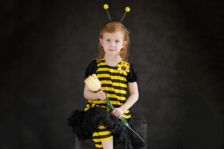 Bumblebee easy to make halloween costumes for kids Pictures