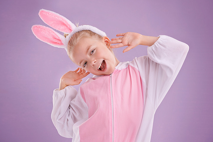 Bunny halloween costumes for children Pictures