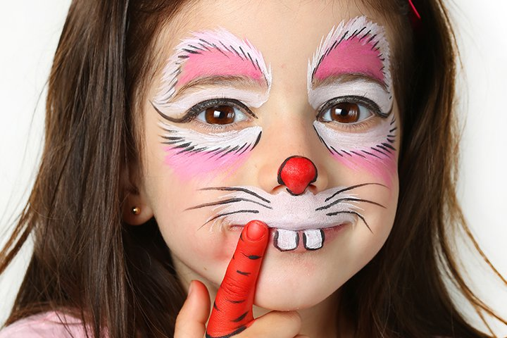 Children in need Pudsey Bear Makeup look - YouTube