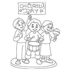 510 Top Coloring Pages Childrens Day  Images