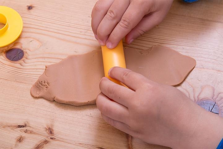 Diwali Craft Ideas - Clay-Diya-Holder