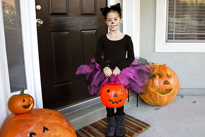 Cool Cat kids halloween costumes Pictures