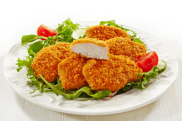 recipes to make with kids - Crispy Baked Chicken