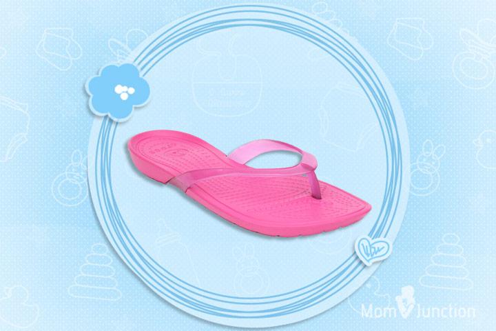 Pregnancy Footwear - Crocs Maternity Wear Flip Flops Slip On