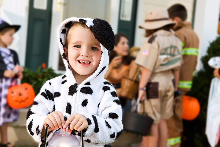 Halloween Costumes For Toddlers - Dalmatian Puppy