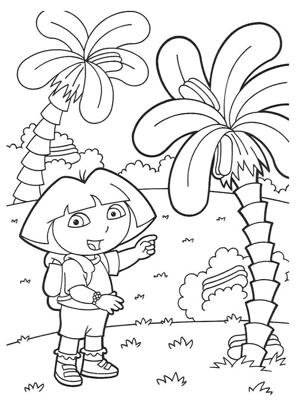 Dora-Beside-A-Palm-Tree