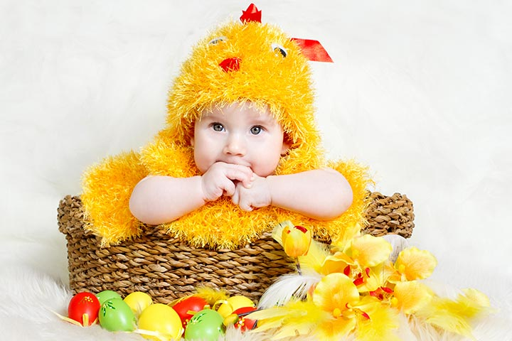 Halloween Costumes For Babies - Duckling Costume