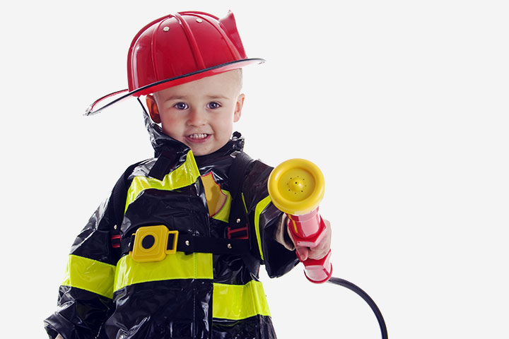 Halloween Costumes For Toddlers - Firefighter