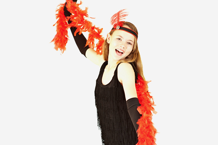 Flapper kids halloween costume ideas Pictures