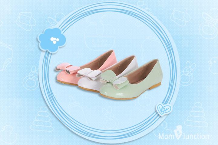 Pregnancy Footwear - Flat Shoes In Casual Ballet Style