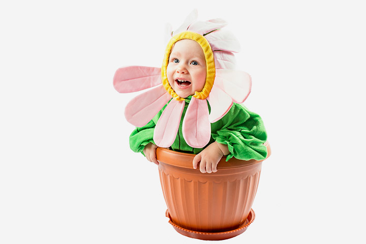 Halloween Costumes For Babies - Flower Costume