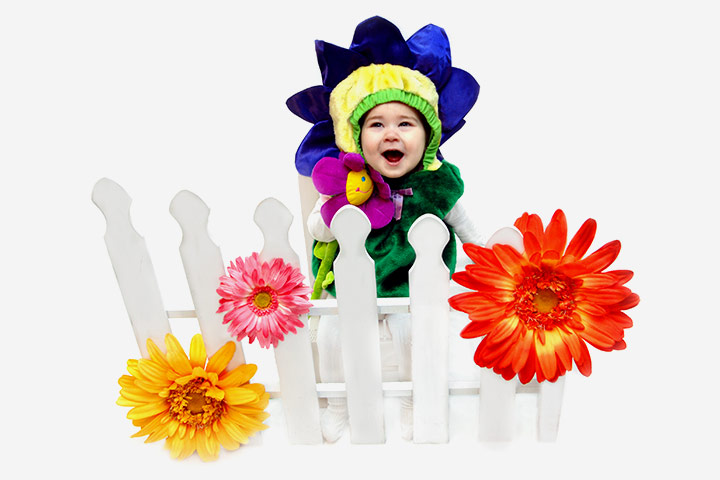 Halloween Costumes For Toddlers - Flower