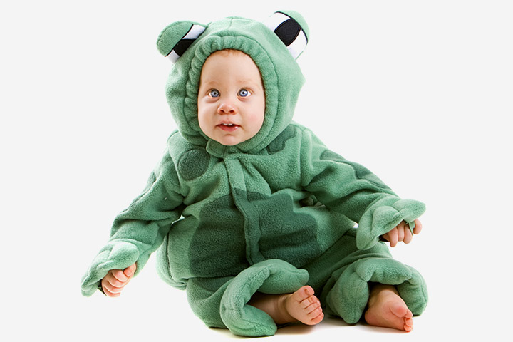 Halloween Costumes For Babies - Frog Costume