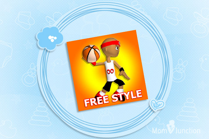 Shooting Games For Kids - Funky Hoops - Free Style