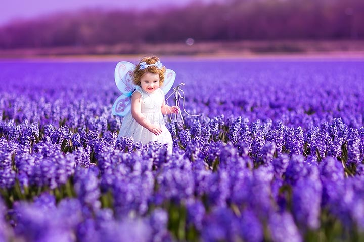 Halloween Costumes For Toddlers - Garden Fairy