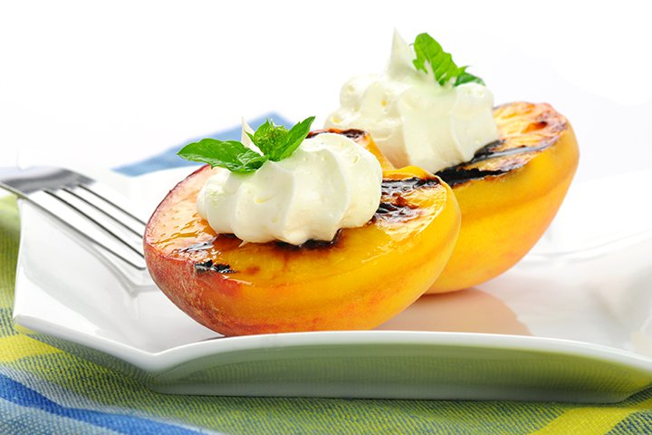 Baby Shower Grilled Peaches Recipes