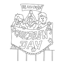 children - Coloring Pictures Of Children