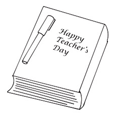 Teachers Day Coloring Pages - Happy Teacher's Day