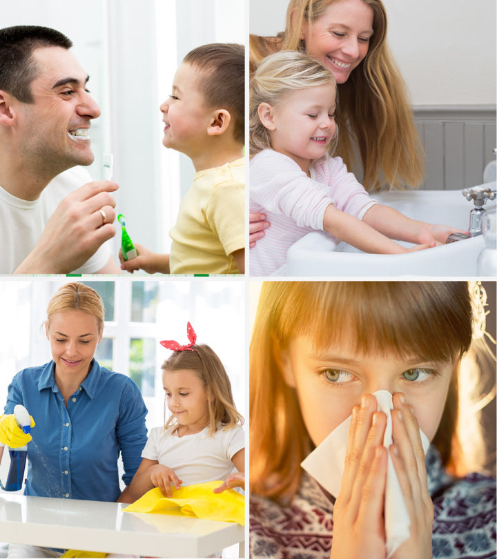 Personal Hygiene For Kids Images