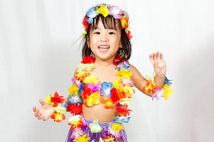 Halloween Costumes For Toddlers - Hula Dancer