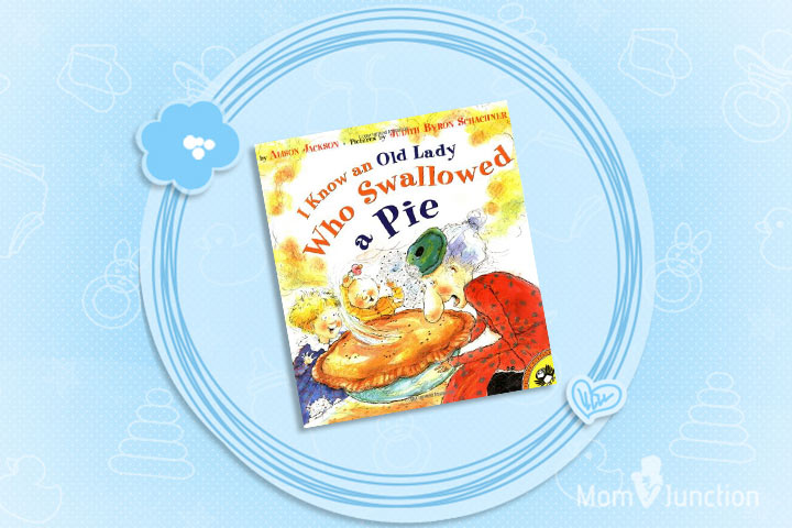 Thanksgiving Books For Preschoolers - I Know an Old Lady Who Swallowed a Pie