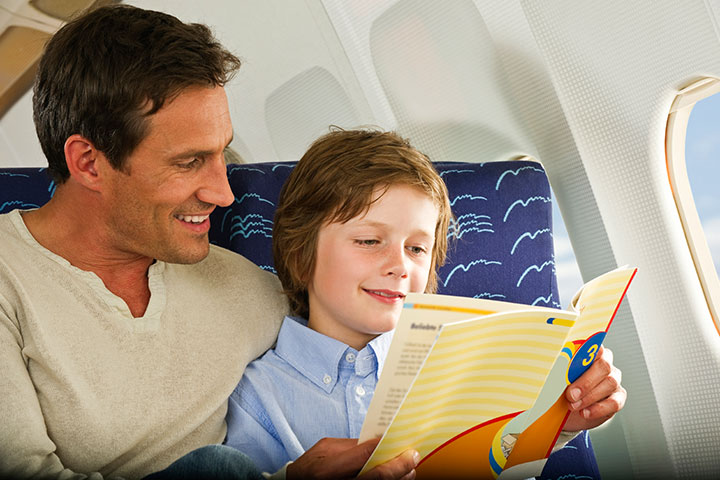 Inflight Story Time