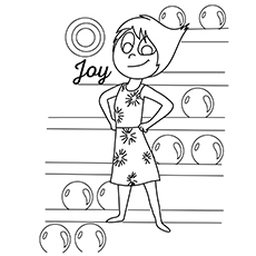 10 Adorable Inside Out Coloring Pages For Your Little One