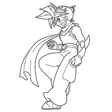Kai Printable Coloring Pages