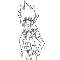 10 amazing beyblade coloring pages for toddlers - Beyblade Metal Fury Coloring Pages